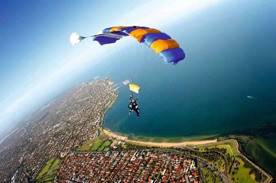 【墨尔本】精彩跳伞之旅☞ 亚拉河谷/ 大洋路 / St Kilda 海滩 ☞ 美景尽览
